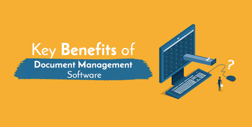 Key Benefits of Document Management Software