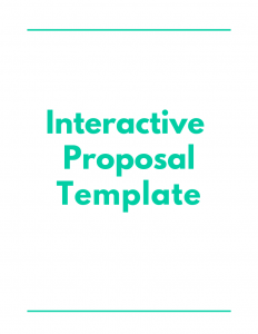 Interactive Proposal Template - Proposal Management Software - DocuCollab