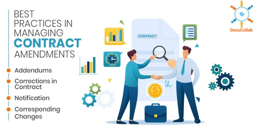 Best Practices in Managing Contract Amendments