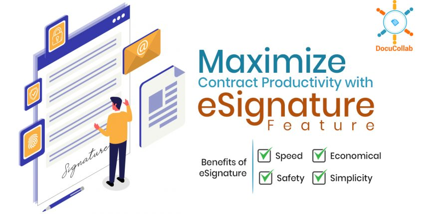 Maximize Contract Productivity with eSignature Feature