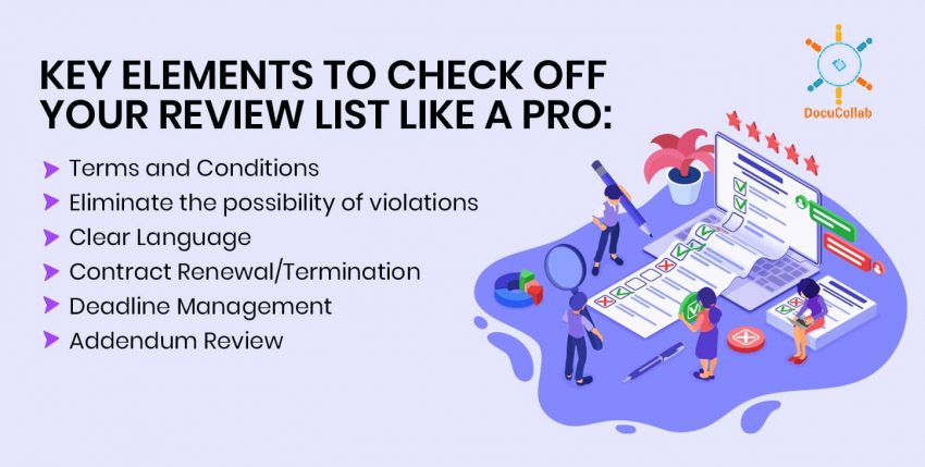 Review Contracts Like a Pro: Key Elements to Check Off Your Review List