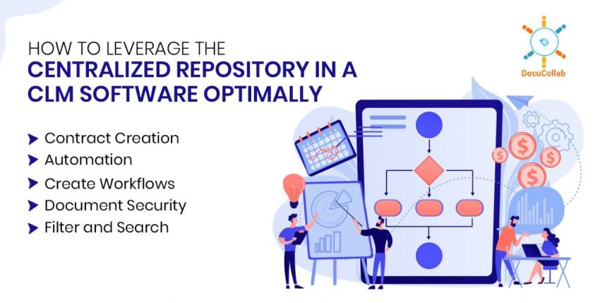 How to Leverage the Centralized Repository in a CLM Software Optimally
