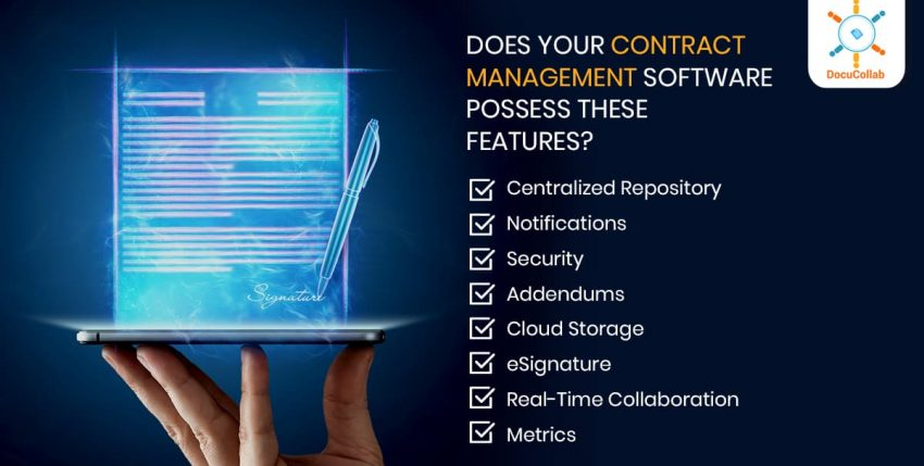 Does Your Contract Management Software Possess these Features?