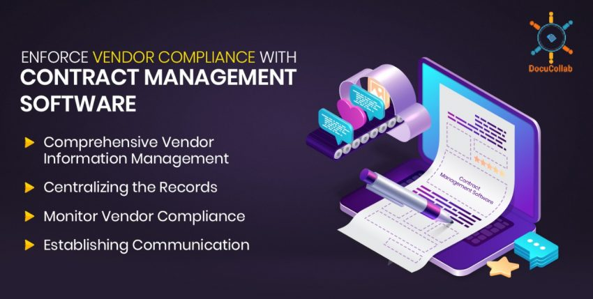 Enforce Vendor Compliance with Contract Management Software